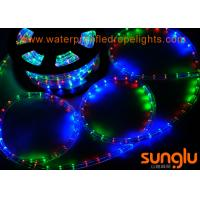 Quality Round F3 Dimmable Flexible LED Rope Lights , RGB Color Changing LED Rope Lights for sale