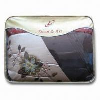 Quality Home Textile Bag, Made of PVC, Customized Structures and Sizes are Welcome for sale