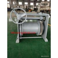 Quality sells 20mm wire rope 50m wire length 30KN hand winch marine winch for sale