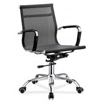 Quality Durable Al Mesh Staff Office Chair Comfy Breathable High Tear Strength for sale