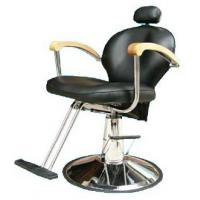 Quality Professional Reclining Salon Barber Chair Classic Style For Hair Shop , Dark Brown for sale