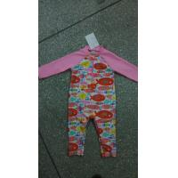 Quality 80%polyamide;20%elasthane baby's swimsuit for printed for sale