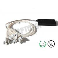 Quality Single Mode Fiber Coupler 1XN LC Fbt Coupler Φ2 Length Customized Package D for sale