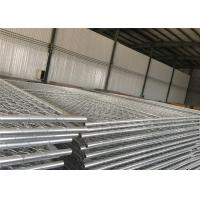 Quality 8'x12' Q195 Q235 Temporary Chain Link Fence 60mm x 60mm x 2.7mm for sale