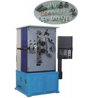 Quality 6 Axis High Stability Automatic Spring Making Machinery Chinese / English Display for sale