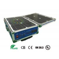 Buy cheap Lifepo4 12V 60AH Storage Battery Systems With Solar Panel For Portable UPS from wholesalers