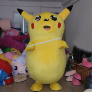 China pikachu mascot costume on sale