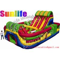 Quality hot sell inflatable jumper slide combo com056 for sale