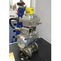 Rotary Machine Stainless Steel Pneumatic Actuator Hard Anodizing Surface Treatment