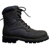 Black Rubber Outsole Rubber Sole Work Shoe Of Industrial Safety Shoes Safety Boots For Sale ...