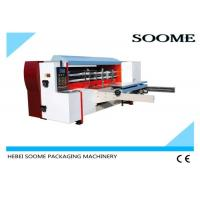 China High Speed Die Cutting And Creasing Machine Lead Edge Feeding Paper 160Pcs/Min on sale