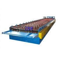 Steel Roof Panel Roll Forming Machine , Metal Roof Panel Machine Solid Shaft