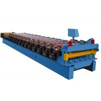 Quality Chain Driven Roof Roll Forming Machine High Working Mechanical Properties for sale