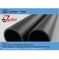 Quality High End 3k Matte Carbon Fiber Pipe / Tubing For FPV / Cell Phones for sale