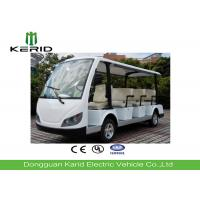 China White Color Electric Sightseeing Car For Multiple Public Zone Payload 11 Person on sale
