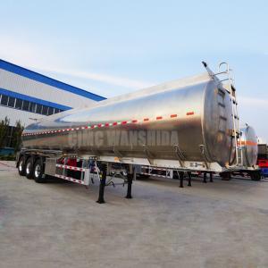 Quality Fuel palm oil transfer tank semi trailer fuel oil tanker trailer| CIMC TRAILERS for sale