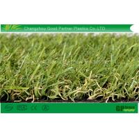 Quality PE Monofilament PP Curl Garden Artificial Grass 4 tone Color Synthetic Turf For Landscaping for sale