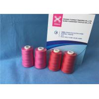 Buy cheap 100% Polyester Staple Fiber Sewing TFO Yarn , Dyed Ring Polyester Core Spun Thread from Wholesalers