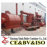 Quality 6th Generation XDZ-10 tons Waste Tyre/Plastic Pyrolysis Plant for sale