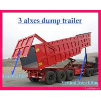 Construction Machinery 80t Loading Dump Trailer