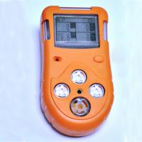 Quality Gas detector 4 in 1 with handheld dimension for monitoring up to 4 gases,co,O2,H2S,LEL for sale