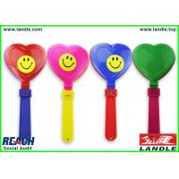 China PP Purple Toys Noise Maker Handclapper Licensed Sports Merchandise For Sports Event on sale