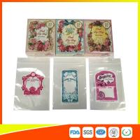 Colorful Custom Printed Ziplock Bags For Shop , Promotion Decorative Bags