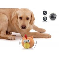 Quality Lifelike Battery Operated Plastic Pet Toy Ball Multi Colors For Boredom for sale
