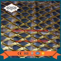 China factory supplier false ceiling aluminum expanded metal mesh with powder coating on sale