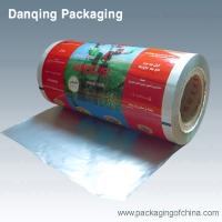 Quality Laminated Plastic Printed Packing Film Roll , Aluminum Foil Food Packaging Film for sale