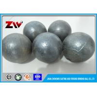 Quality HRC 45-48 Medium chrome cast steel Grinding Balls For Ball Mill Cr 5 for sale