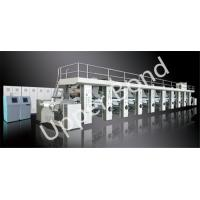 China Automatic Tobacco Printing Press Machines with Digital PLC Control on sale