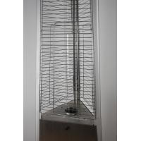 Quality Durable Safety Outdoor Flame Heater , Floor Standing Gas Patio Heater Low Noise for sale