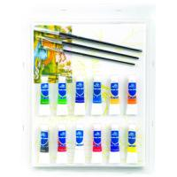 Quality Rectangular Drawing Art Sets , Fashion Art Studio Paint Set For Adults for sale