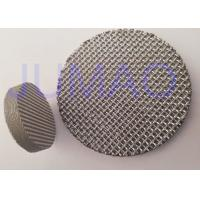 Quality Monel / Stainless Steel Sintered Filter Disc With Diameter 6 mm - 3000 mm for sale