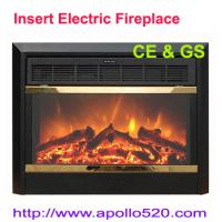 China Real Flame Electric Fireplace Core with Heater on sale