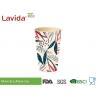 Buy cheap Phthalate Free Bamboo Fiber Cup Food Grade Tumbler Coffee Mug Colorful Printing from wholesalers