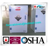White Chemical Hazardous Storage Cupboards For Storing