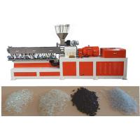 Quality EVA Double Screw Extruder Plastic Making Machine Under Water Pelletizing System for sale