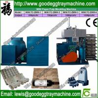 China egg tray manufacturing machine/machine making egg trays/small egg tray machine on sale