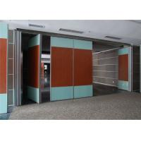 Quality Banquet Hall Acoustic Room Dividers Aluminium Movable Wall 85 mm Thickness for sale