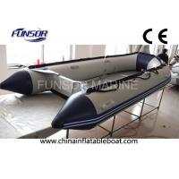 Towable 12 Ft Hypalon Foldable Inflatable Boat With Hand Glued Tube