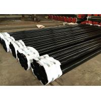 Quality Black Industrial Pipes And Tubes / High Strength Metal Erw Steel Pipe for sale