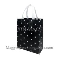 Buy 2018 Recycle long handle Foldable Non Woven Garment Bag Price use non woven bag at wholesale prices