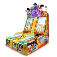 China Commercial Small Happy Bowling Video Shooting Ball Gaming Machine For Amusement Park on sale