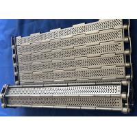 Buy cheap Chain Link Plate Perforated Plate Mesh Belt Stainless Steel Wire Mesh from wholesalers