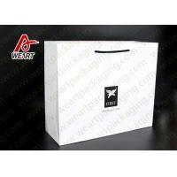 Buy cheap High End Plain Paper Party Bags With Handles Matte Lamination Suface from Wholesalers