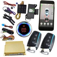 Buy cheap Mobile Phone APP 3G Smartphone Remote Start System Smart Car Alarm from wholesalers