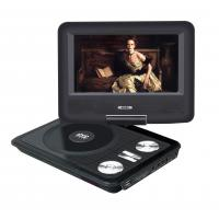 7inch portable dvd evd player with tv tuner and radio low. Black Bedroom Furniture Sets. Home Design Ideas