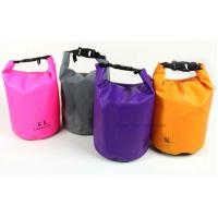 Quality Custom Color Waterproof Dry Bags Cylinder 5L Tarpaulin With Heat Seal Technique for sale